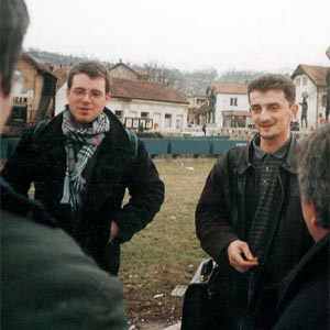 Grégory Carrier et ZoranBlagojevic