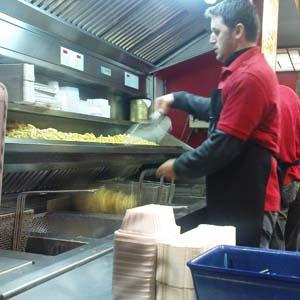 Le moment de la frite