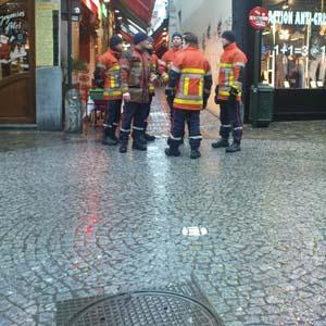 Les pompiers de Bruxelles