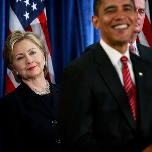 Barack Obama & Senator Hillary Clinton